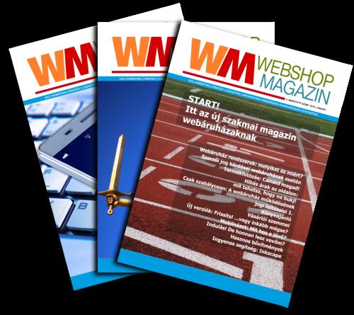 Webshop Magazin féléves előfizetés (6 hónap – 3. szám)