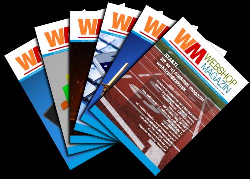 Webshop Magazin éves előfizetés (3-8. szám)